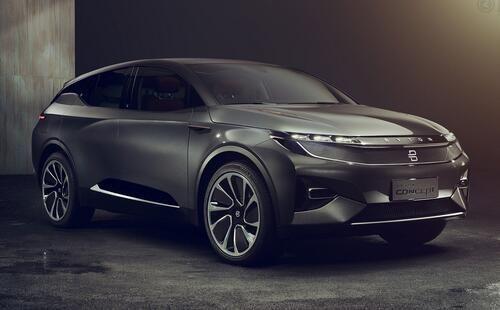 中国电动汽车厂商拜腾开始向美国运送m-byte原型车