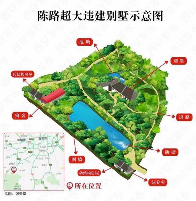 西安秦岭北麓违规别墅整治进入冲刺阶段,已拆除600多栋
